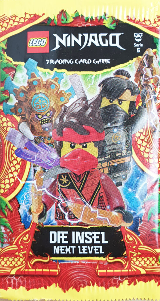 """Trading Card Game Booster NINJAGO® """"Die Insel"""""""