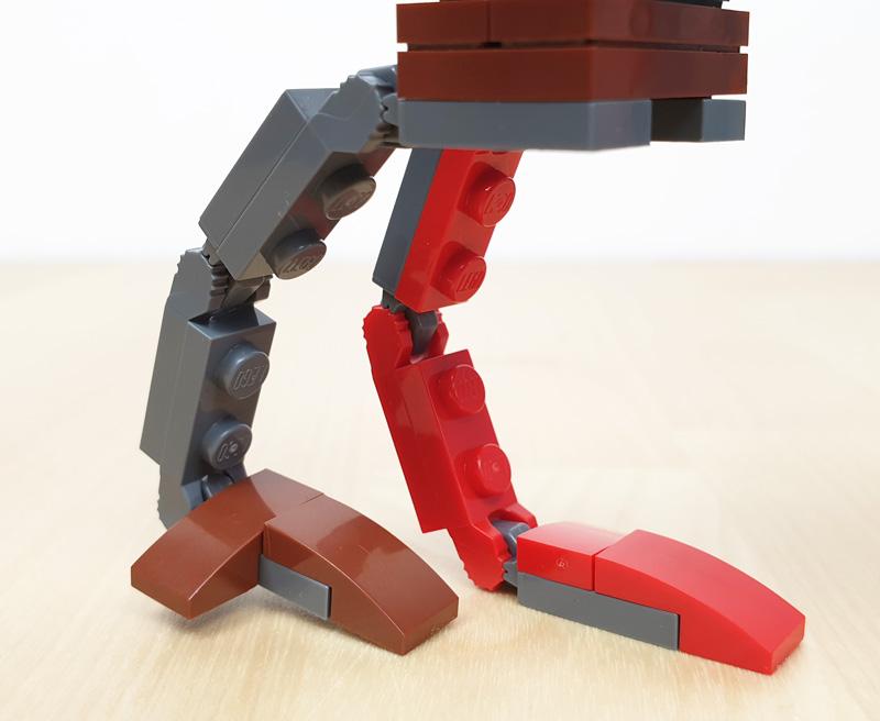 LEGO AT-ST™ Raider mit beweglichen Gelenken