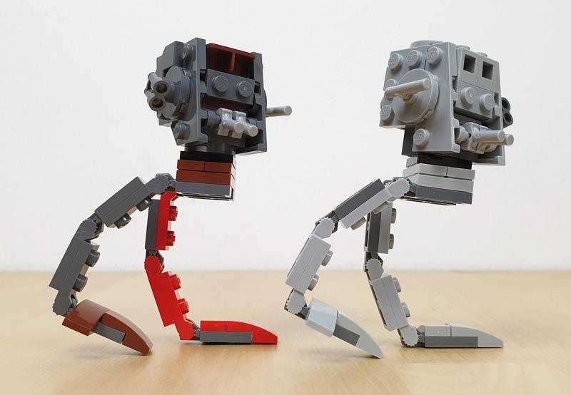LEGO AT-ST™ und AT-ST™ Raider im Vergleich