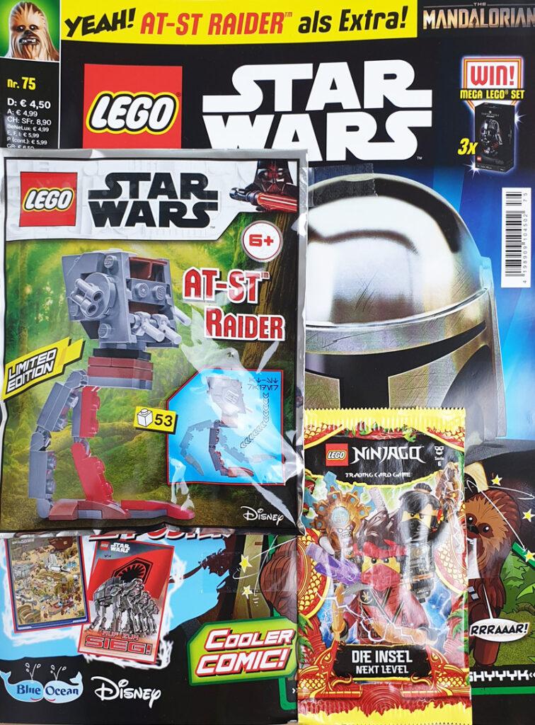 LEGO® Star Wars™ Magazin Nr. 75 mit Foilpack und Kartenbooster