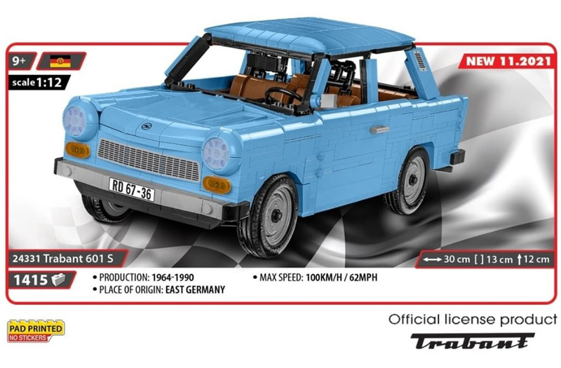 COBI Trabant 601 S 24331