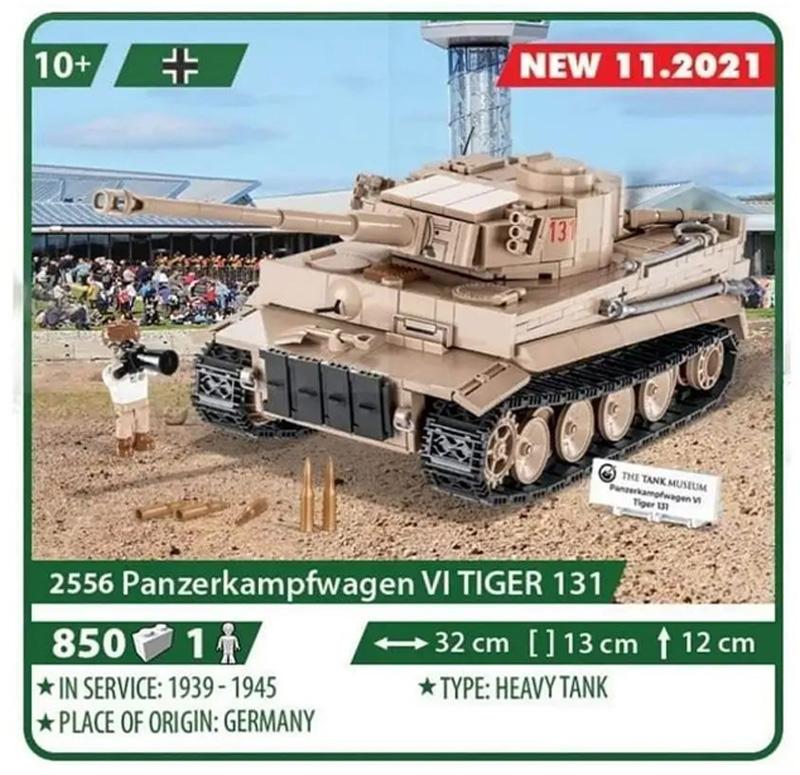 COBI 2556 Tiger 131 2556