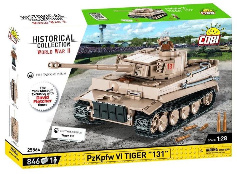 COBI Tiger 131 2556A mit David Fletcher Minifigur