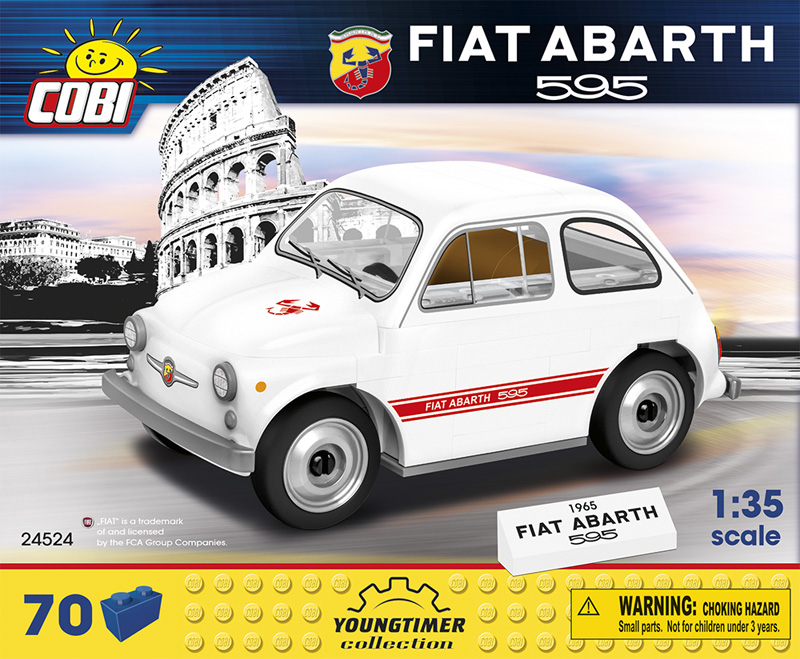 COBI Fiat Abarth 595 24524