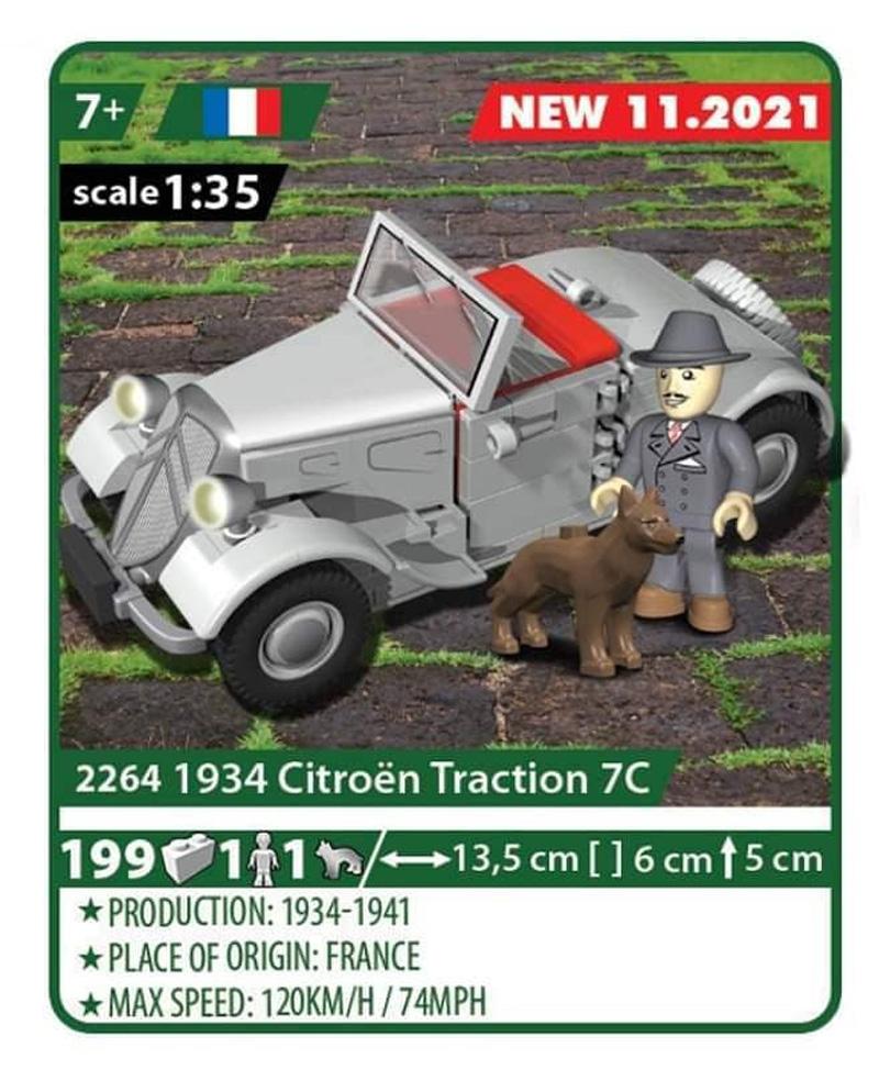 COBI Citroen Traction 7C 2264