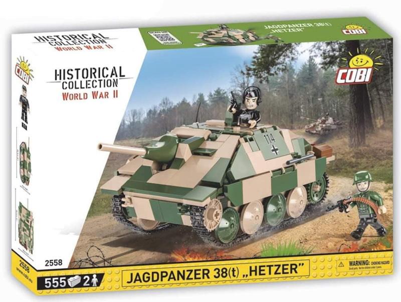 """Jagdpanzer """"Hetzer"""" von COBI 2558"""