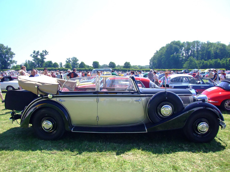 Horch 830 Cabriolet im Original