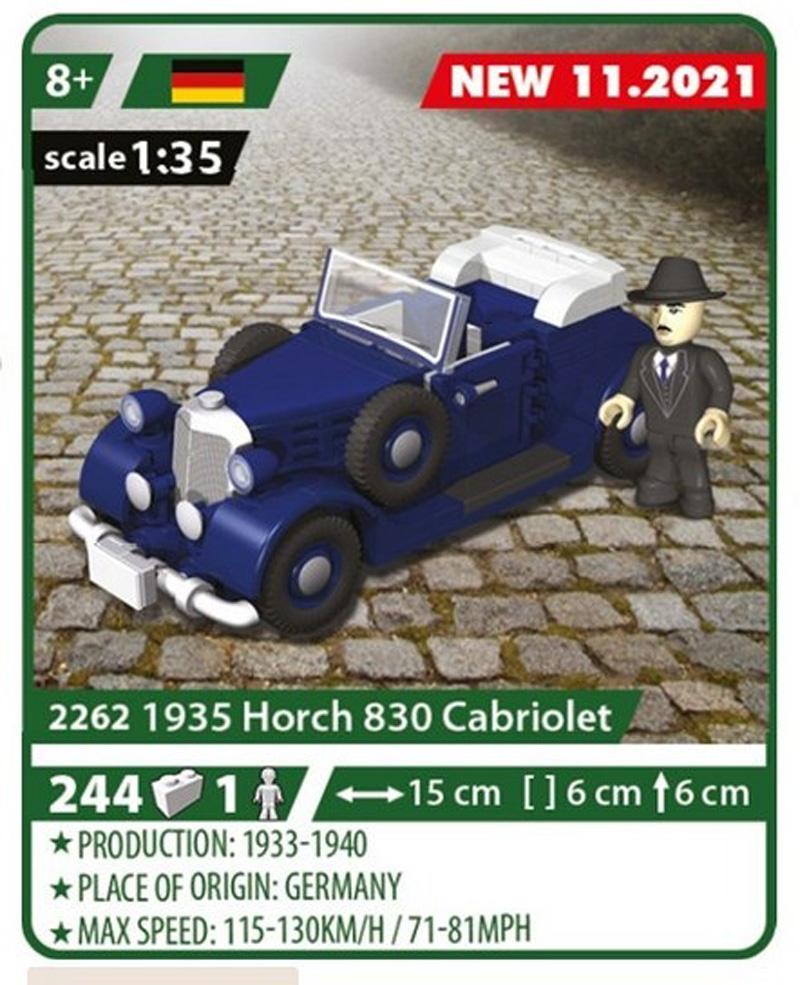 COBI 1935 Horch 830 Cabriolet 2262