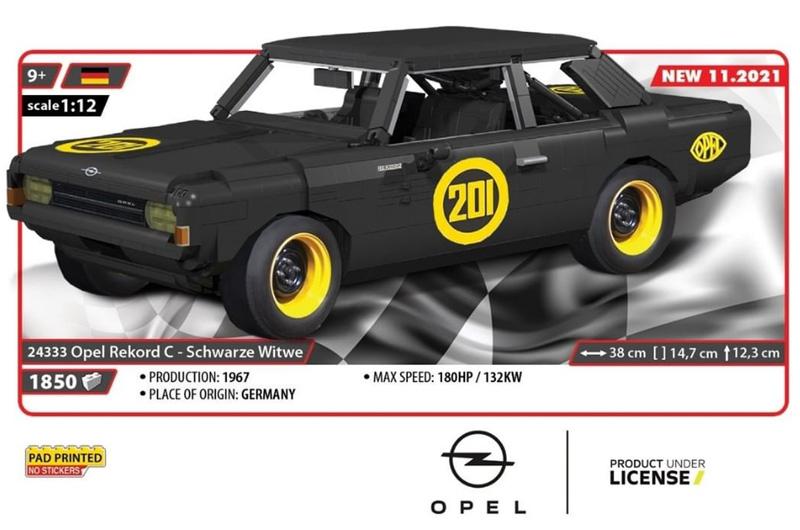 COBI Opel Rekord Schwarze Witwe 24333