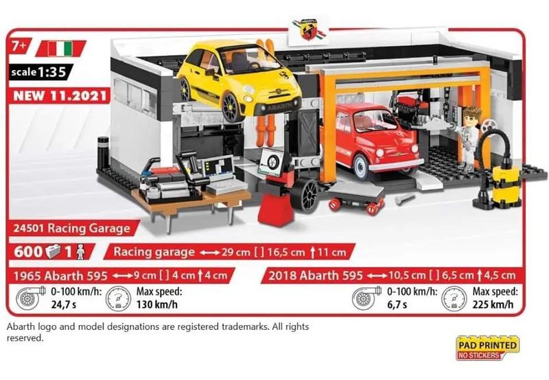 COBI Racing Garage 24501