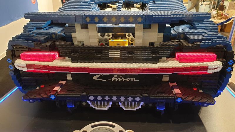LEGO® Bugatti Chiron Nachbau Chiron Logo