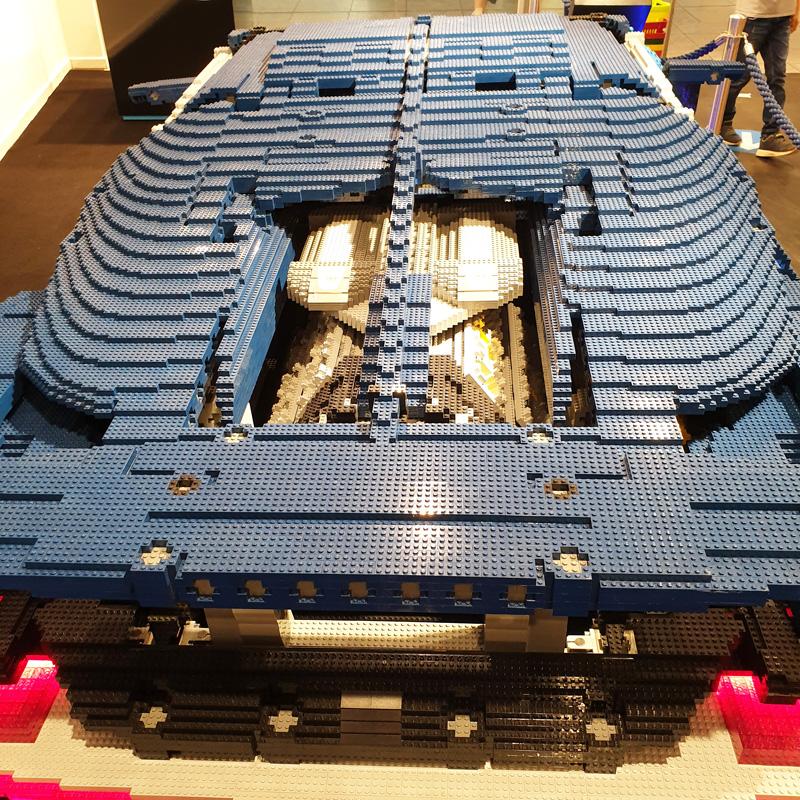 LEGO® Bugatti Chiron Nachbau Hinterseite
