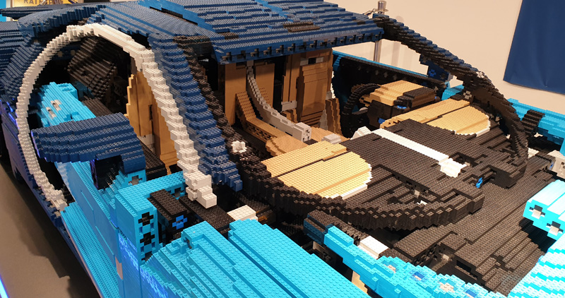 LEGO® Bugatti Chiron Nachbau Details