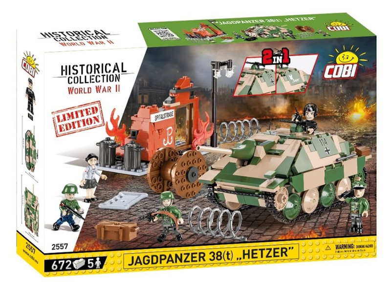 """Jagdpanzer """"Hetzer"""" als limitierte Edition"""