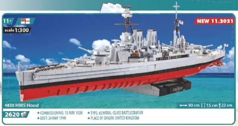 HMS Hood von COBI