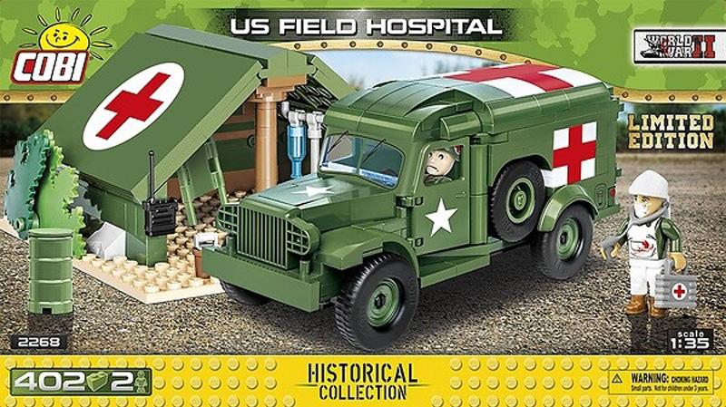 Limited Edition US Field Hospital COBI