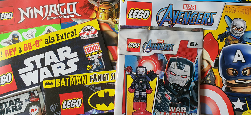 LEGO Magazine Übersicht