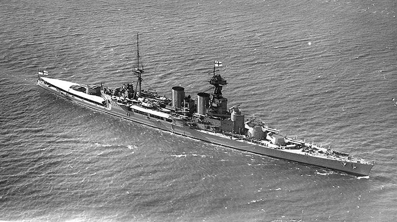 HMS Hood Original Schiff