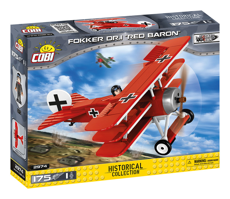 COBI Fokker Dr.1. 2974