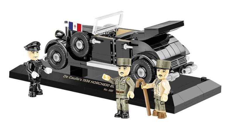 COBI De Gaulle's Horch 830 BL 2260 in der limitierten Version