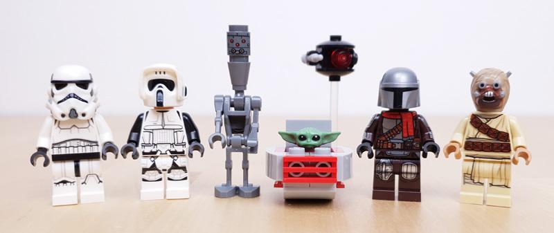 LEGO® Star Wars Adventskalender: Alle Minifiguren und Figuren in der Übersicht
