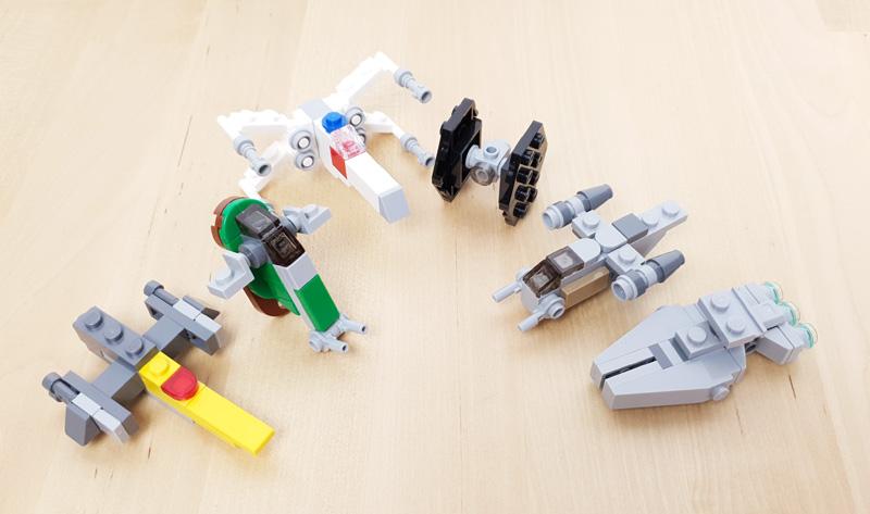 LEGO® Star Wars Adventskalender: Raumschiffe