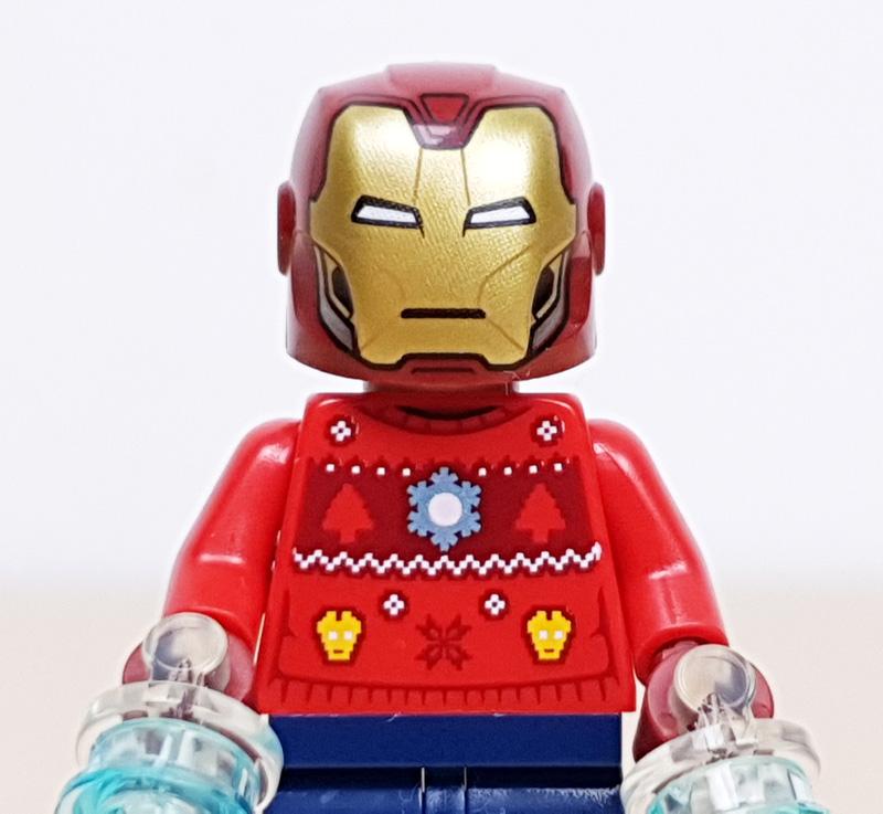 Minifigur Tony Stark Lego Marvel Adventskalender