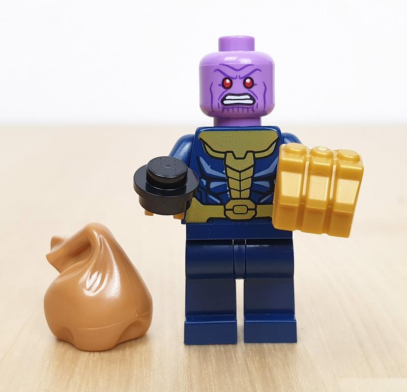 Thanos Minifigur Lego Marvel Adventskalender