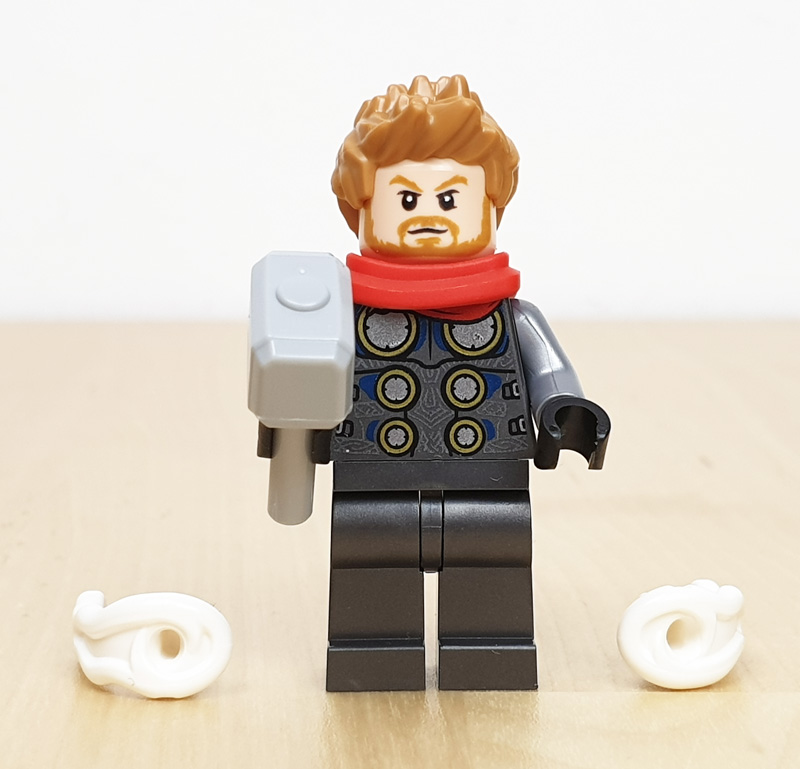 Minifigur Thor Lego Marvel Adventskalender