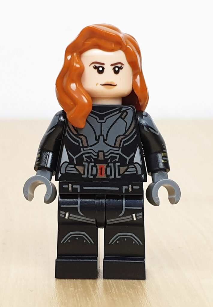 Minifigur Black Widow Lego Marvel Adventskalender
