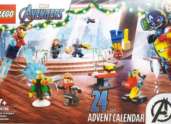 LEGO® 76196 Marvel Avengers Adventskalender 2021 Inhalt – Was ist drin?
