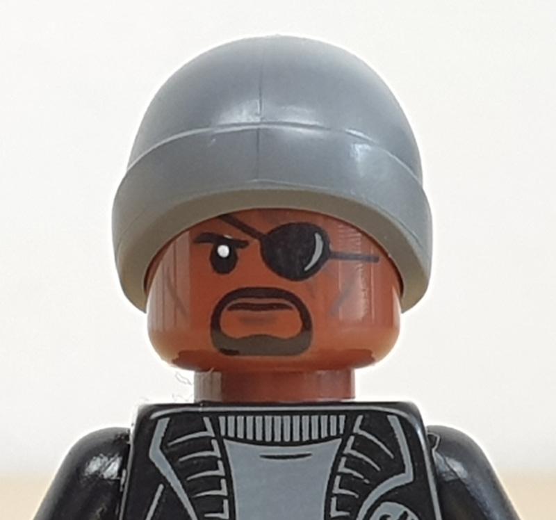 Minifigur Nick Fury Lego Marvel Adventskalender