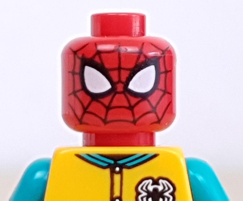 Minifigur Spiderman Lego Marvel Adventskalender