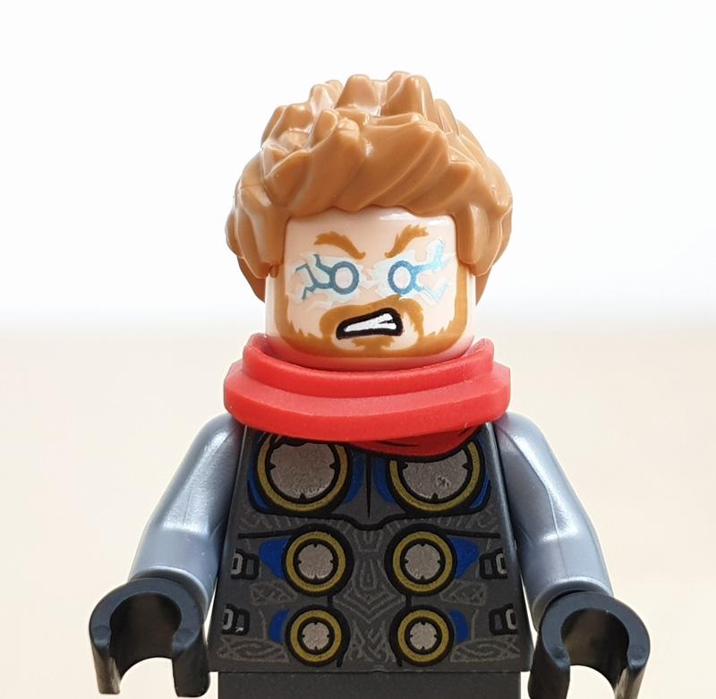 Minififigur Thor Lego Marvel Adventskalender