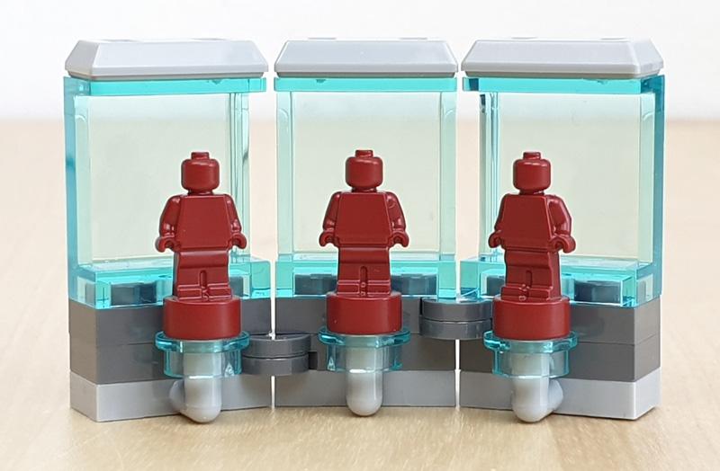 Stück aus der Iron Man Werkstatt Lego Marvel Adventskalender