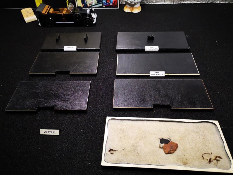 Baseplates aus Holz für verschiedene COBI-Modelle