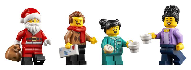 LEGO Besuch beim Weihnachtsmann 10293 Minifiguren
