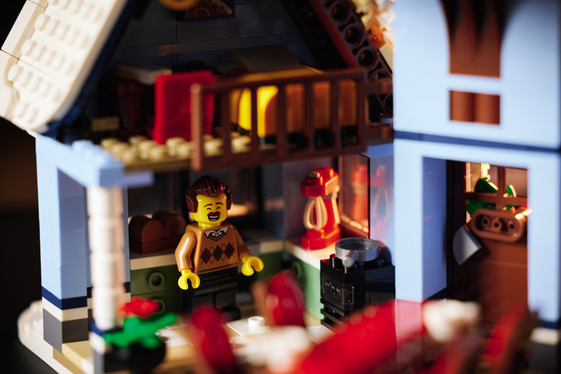LEGO Besuch beim Weihnachtsmann 10293