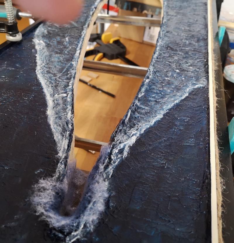 Making of Yamato Diorama