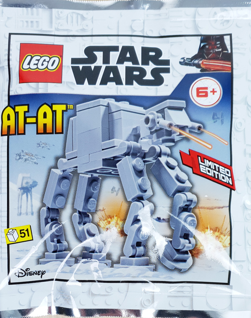 Foilpack mit AT-AT