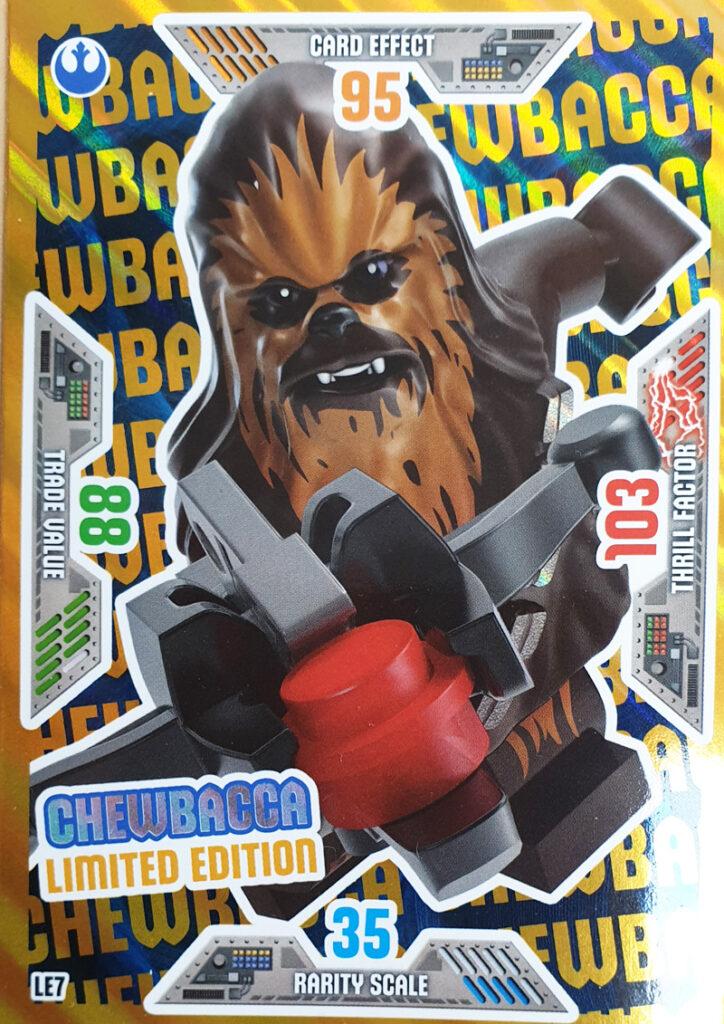 Chewbacca aus der LEGO® Star Wars™ Sammelkartenserie