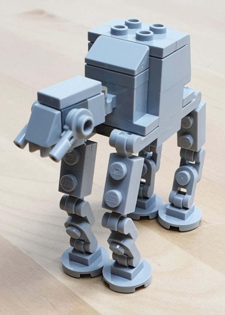 AT-AT aus dem LEGO® Star Wars™ Magazin Nr 61/2020