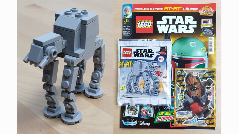 LEGO Star Wars Magazin 61/2020