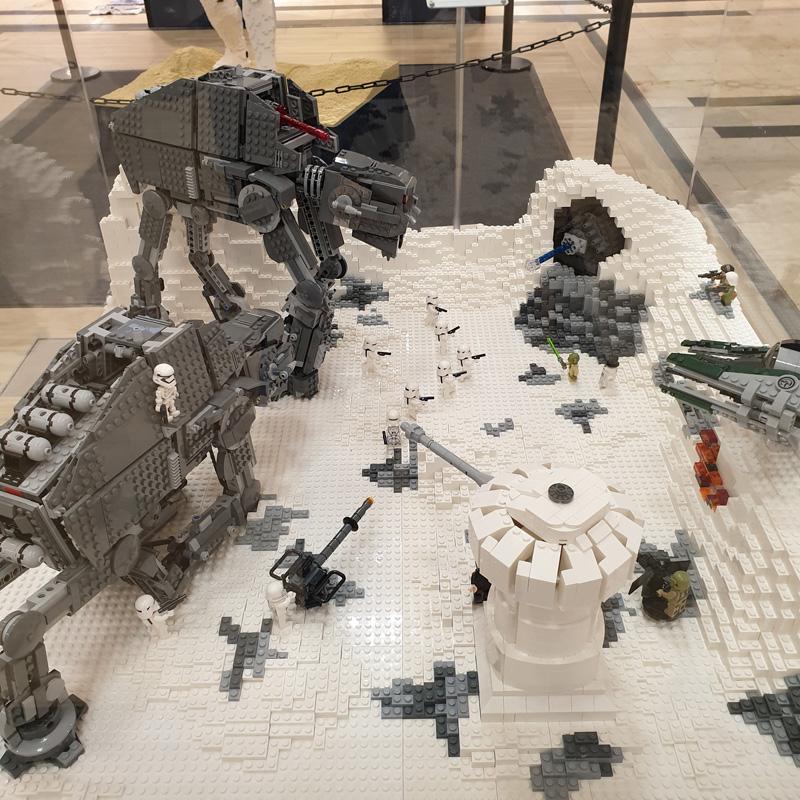 Ausstellung BrickFabrik im Elbe Einkaufszentrum, Star Wars Diorama