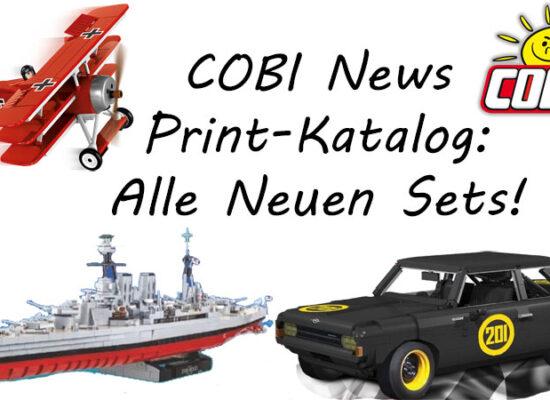 Neuer COBI-Katalog ist da - alle neuen Sets in der Übersicht