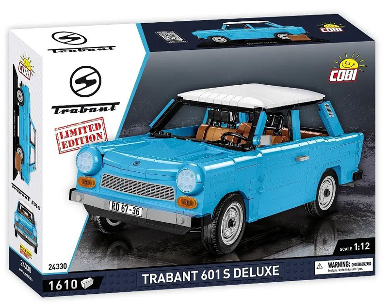 COBI Trabant 601 S Deluxe Limited Edition