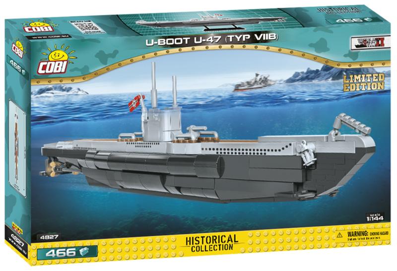 U47 Typ VIIB (4827) COBi Limited Edition