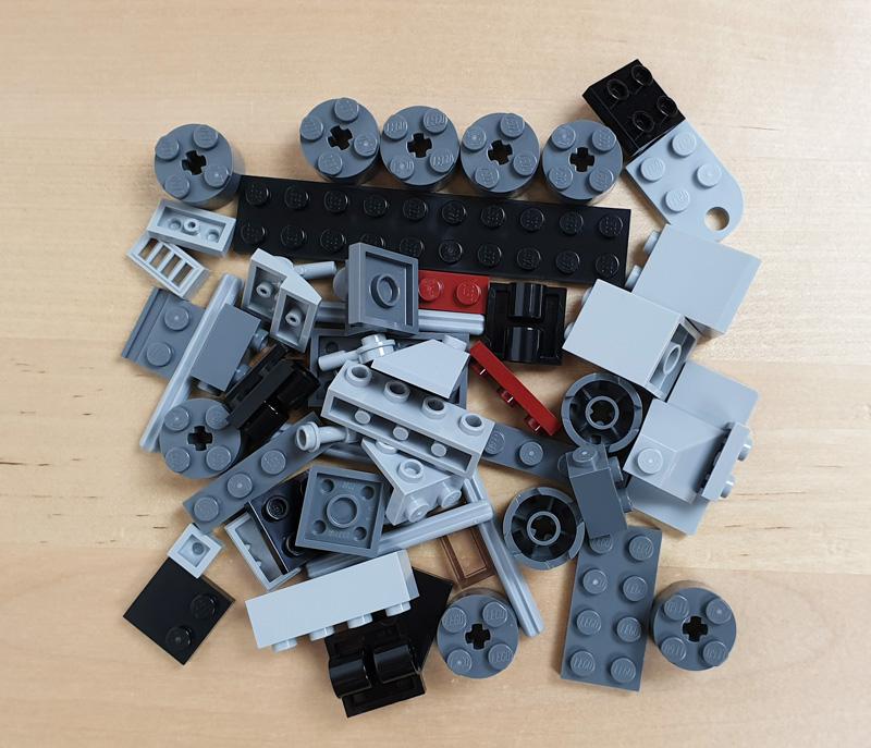 LEGO® Star Wars™ Magazin Nr. 76/2021 Foilpack mit Clone Turbo Tank