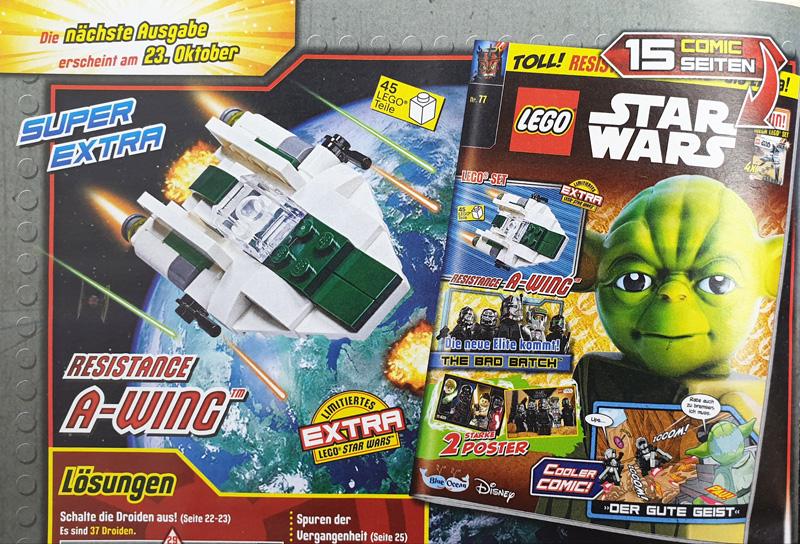 LEGO® Star Wars™ Magazin Vorschau auf die kommende Ausgabe