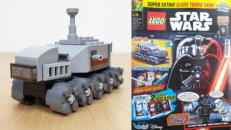 LEGO® Star Wars™ Magazin Nr. 76/2021